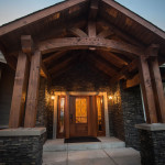 The View - Custom Home Entry - A.C.T. Builders