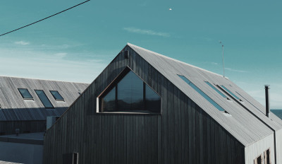 Roof of House by the Ocean
