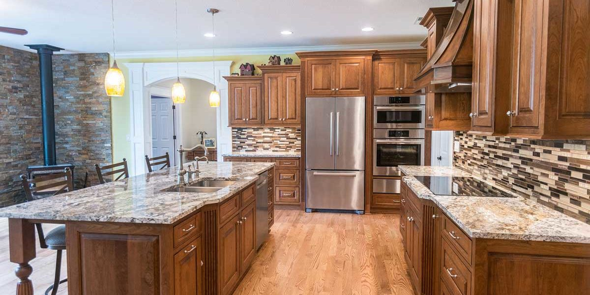High end kitchen remodel