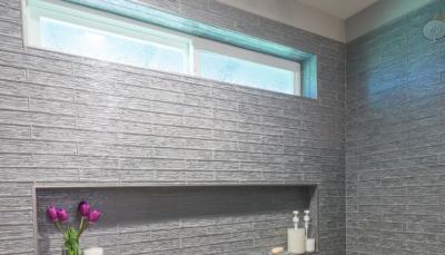 Custom Shower Tile - A.C.T. Builders